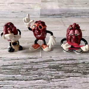 California Raisins Vintage McDonald's toy figures